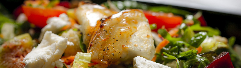 Ruccolas caesarsallad med kyckling